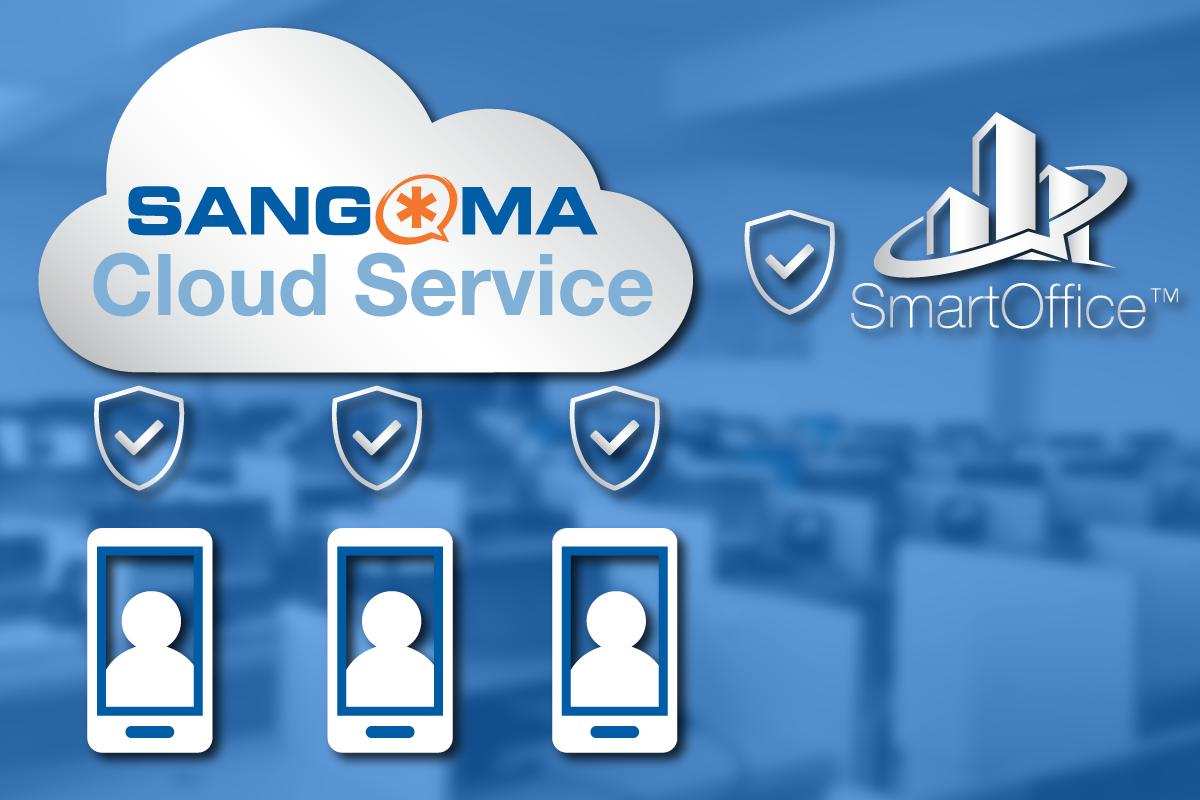 Large picture showing SmartOffice Sangoma cloud service