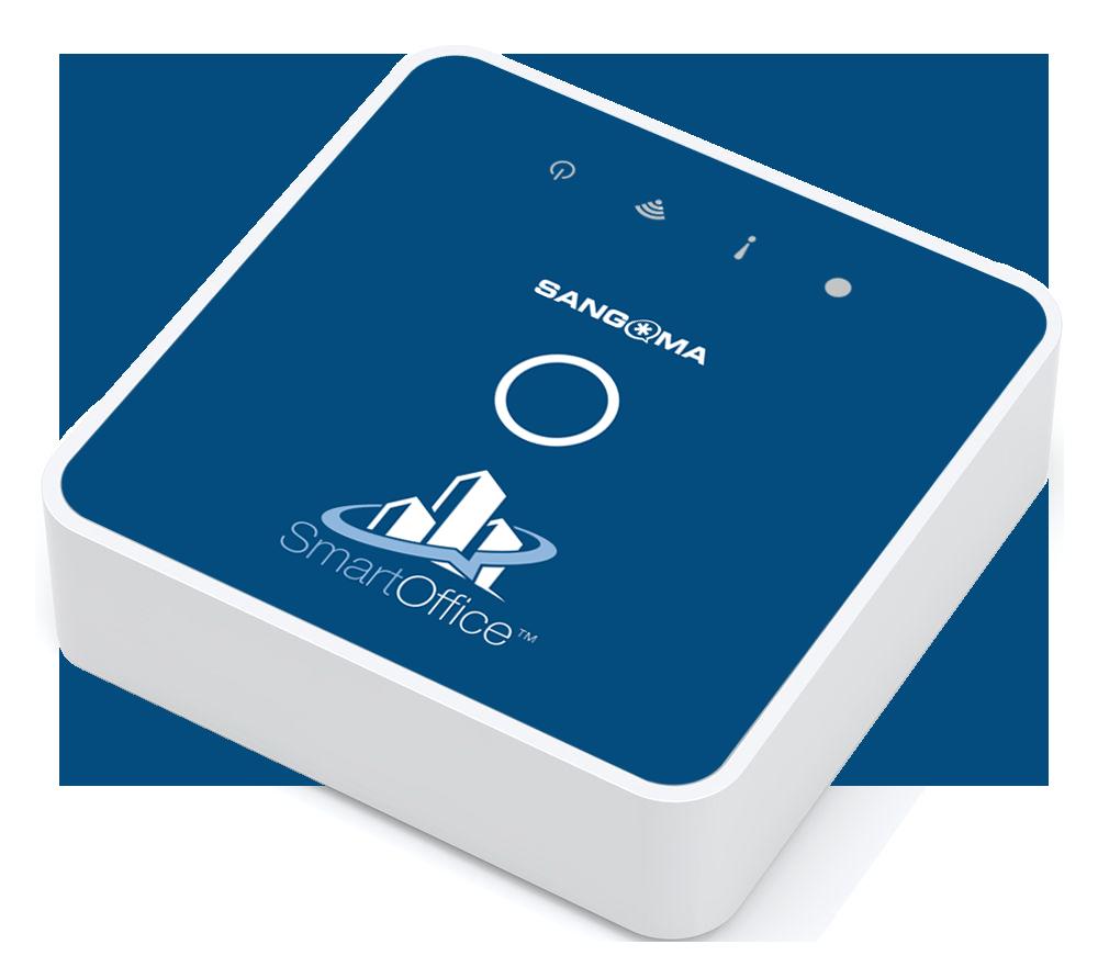 A large image showing the Sangoma SmartOffice device